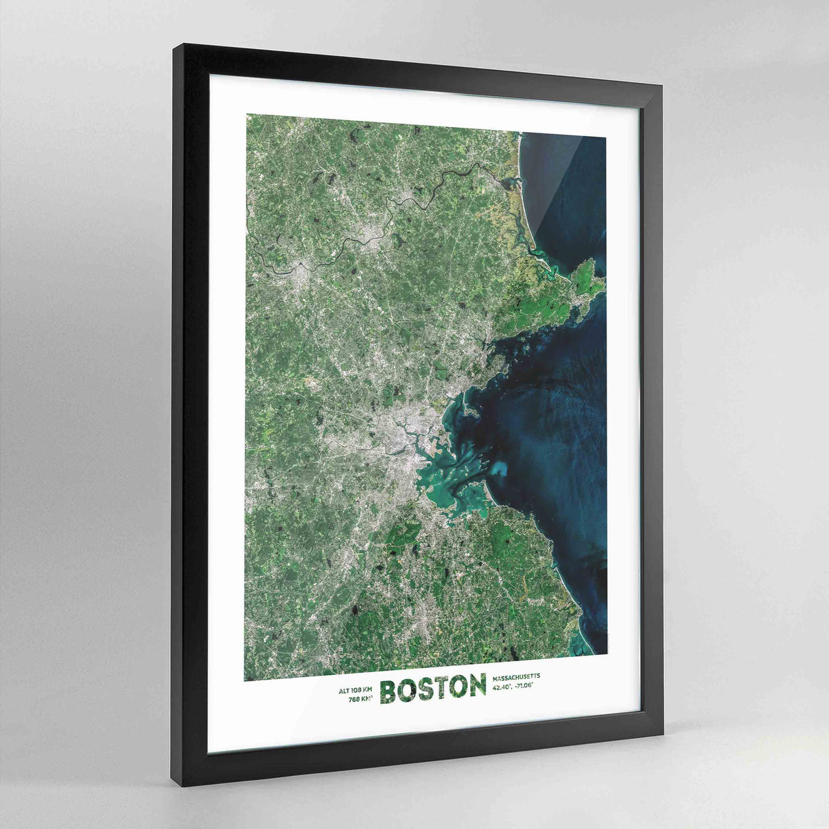 Boston Earth Photography - Art Print - Point Two Design