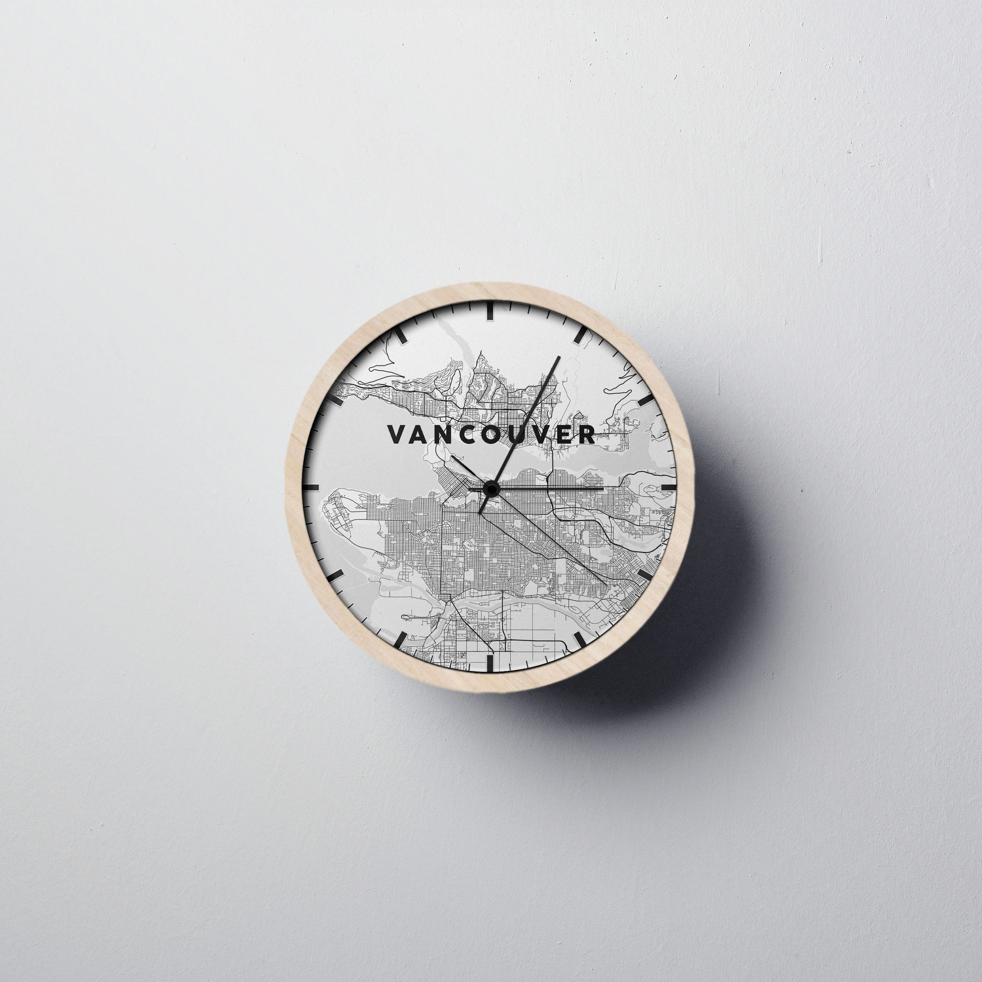 Vancouver Wall Clock