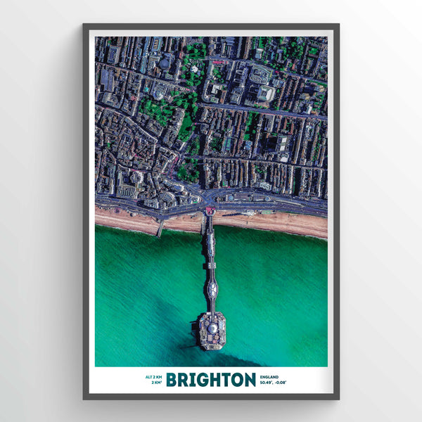 Brighton Earth Photography - Art Print - Point Two Design