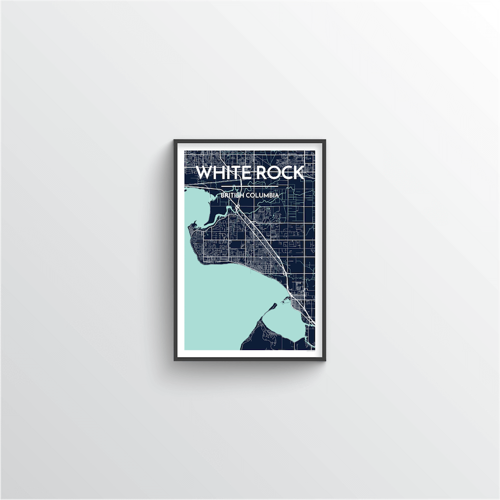 White Rock City Map - Point Two Design