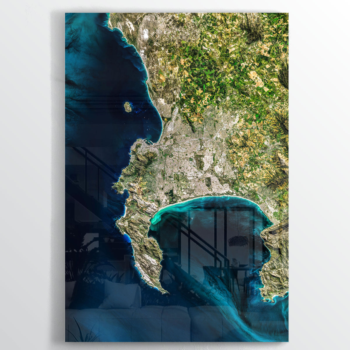 Cape Town Earth Photography - Floating Acrylic Art - Point Two Design