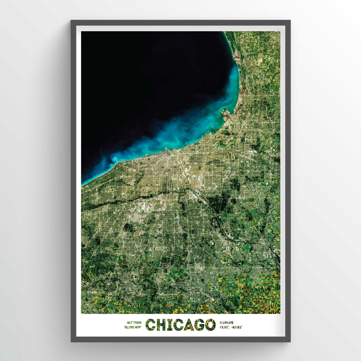 Chicago Earth Photography - Art Print - Point Two Design
