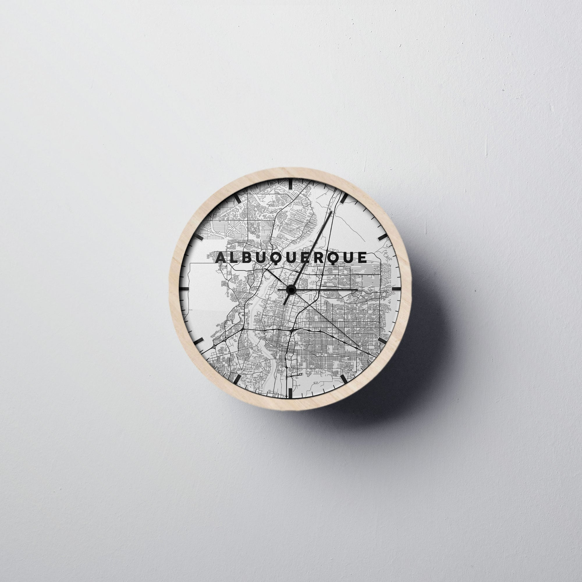 Albuquerque Wall Clock - Point Two Design