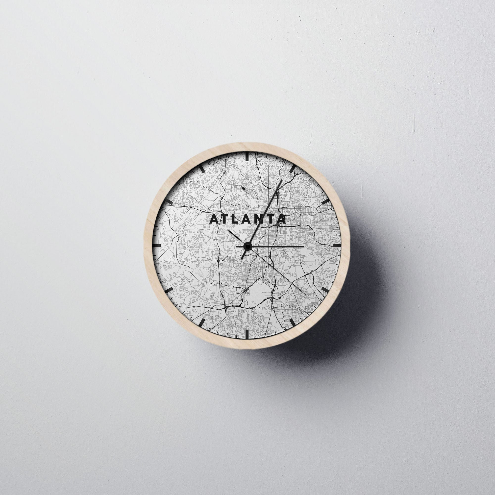 Atlanta Wall Clock - Point Two Design