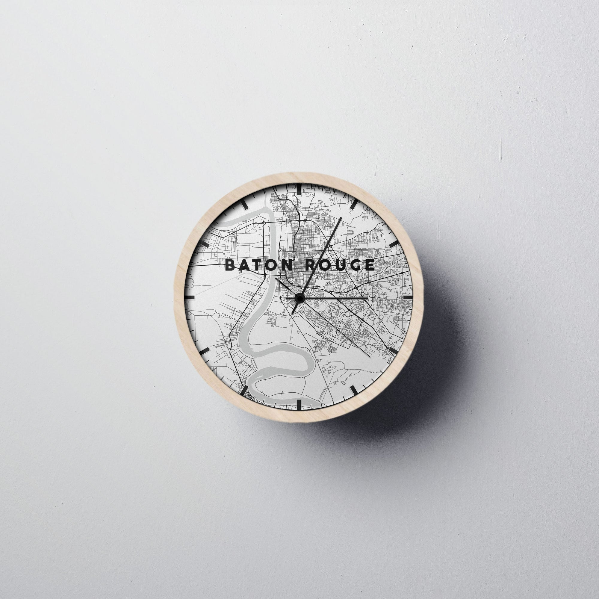 Baton-rouge Wall Clock - Point Two Design
