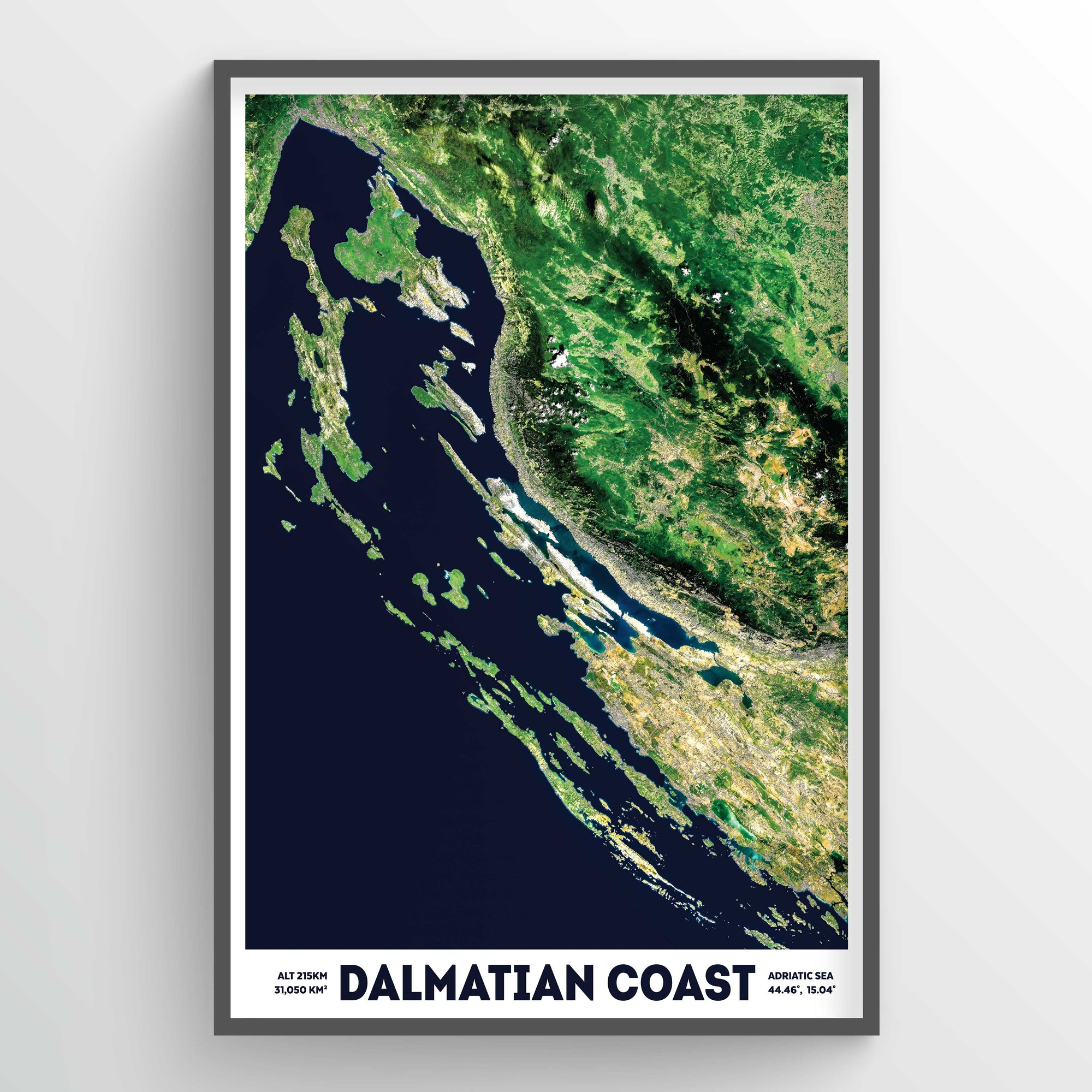 Dalmatian Coast Earth Photography - Art Print - Point Two Design
