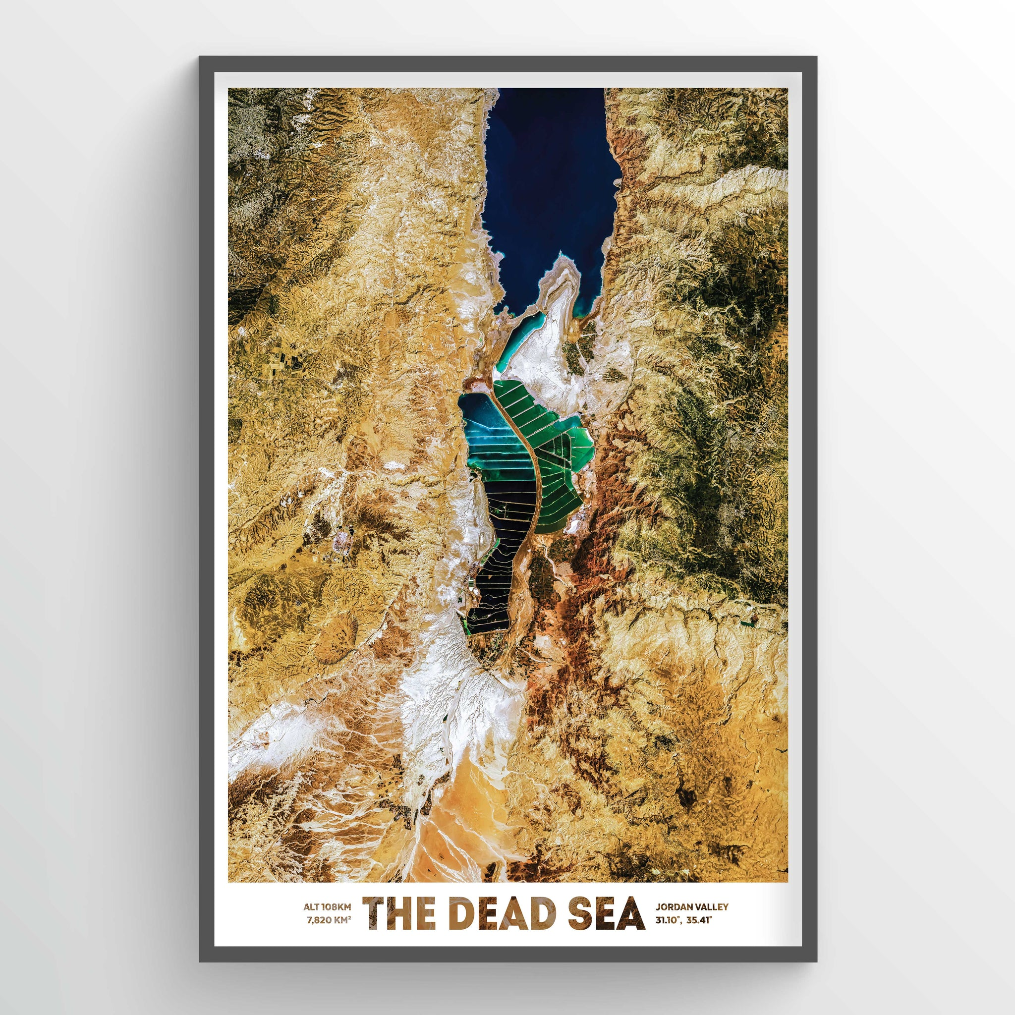 Dead Sea Earth Photography - Art Print - Point Two Design