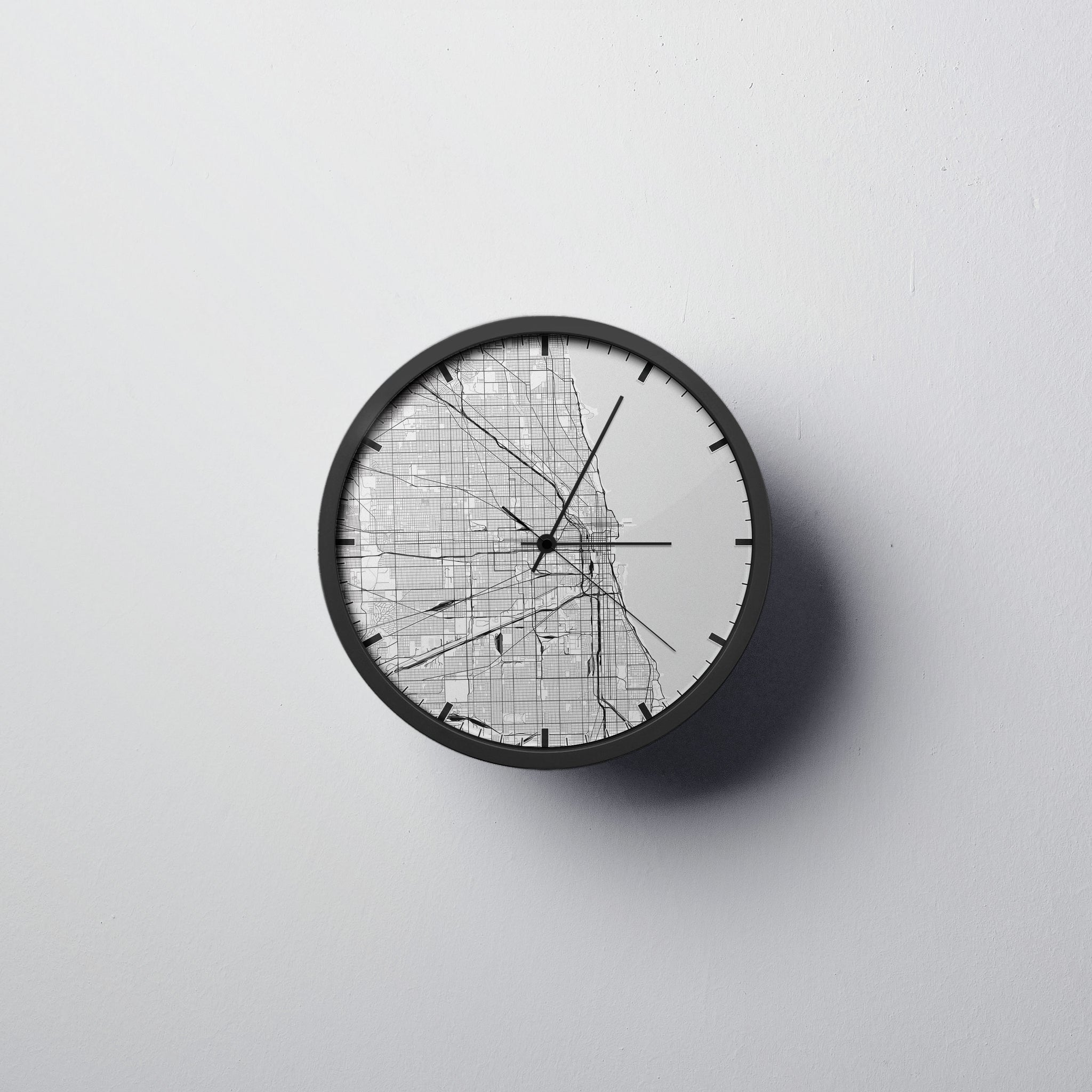 Chicago Wall Clock - Point Two Design