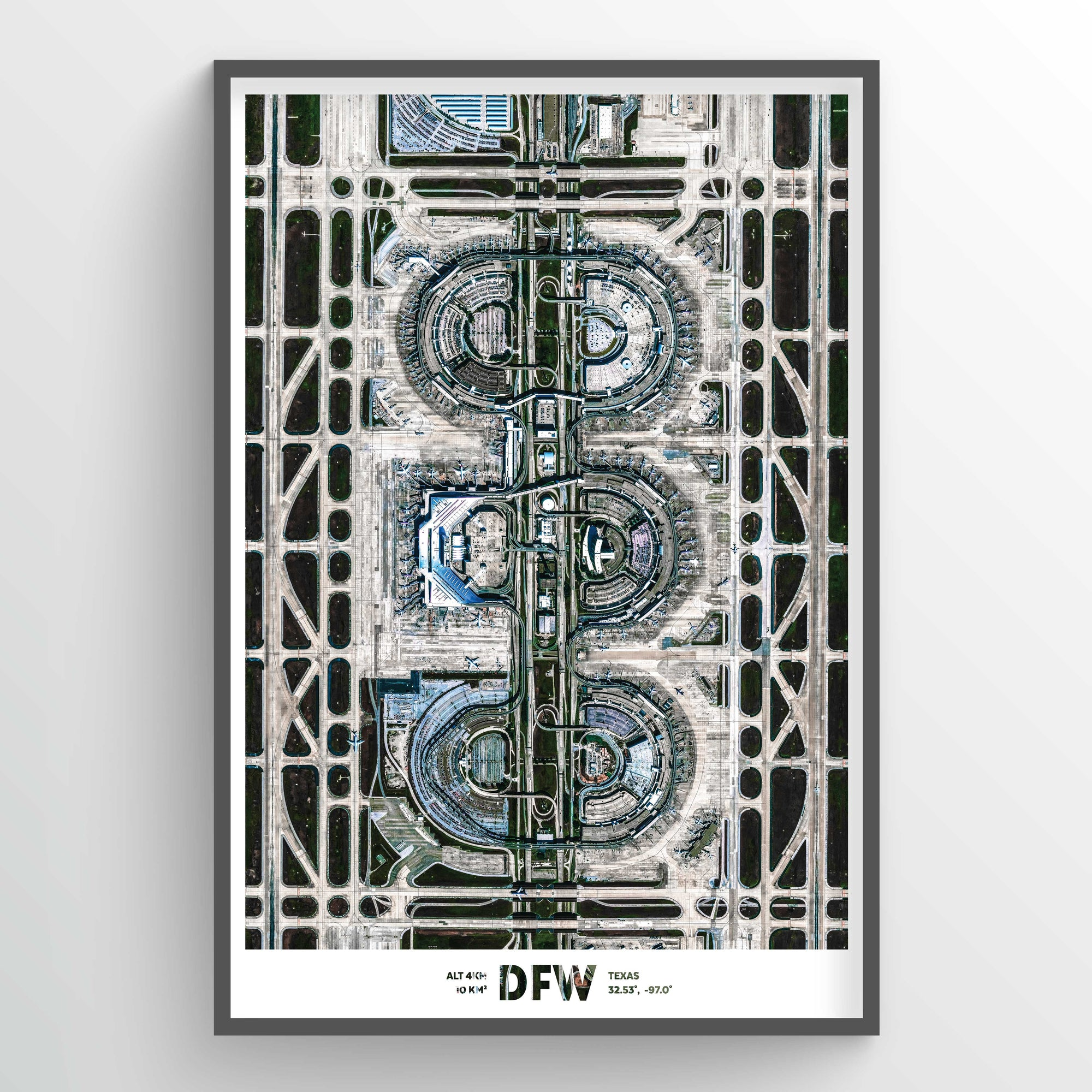DFW Earth Photography - Art Print - Point Two Design