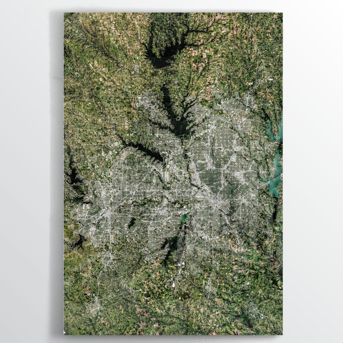 Dallas Earth Photography - Floating Acrylic Art - Point Two Design