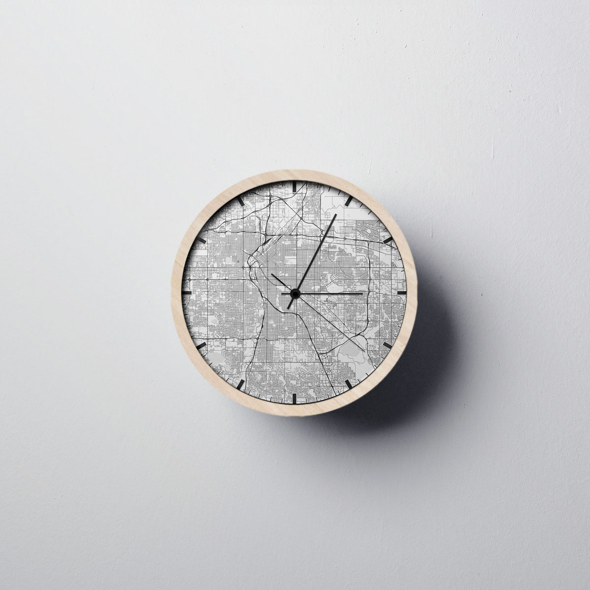 Denver Wall Clock - Point Two Design