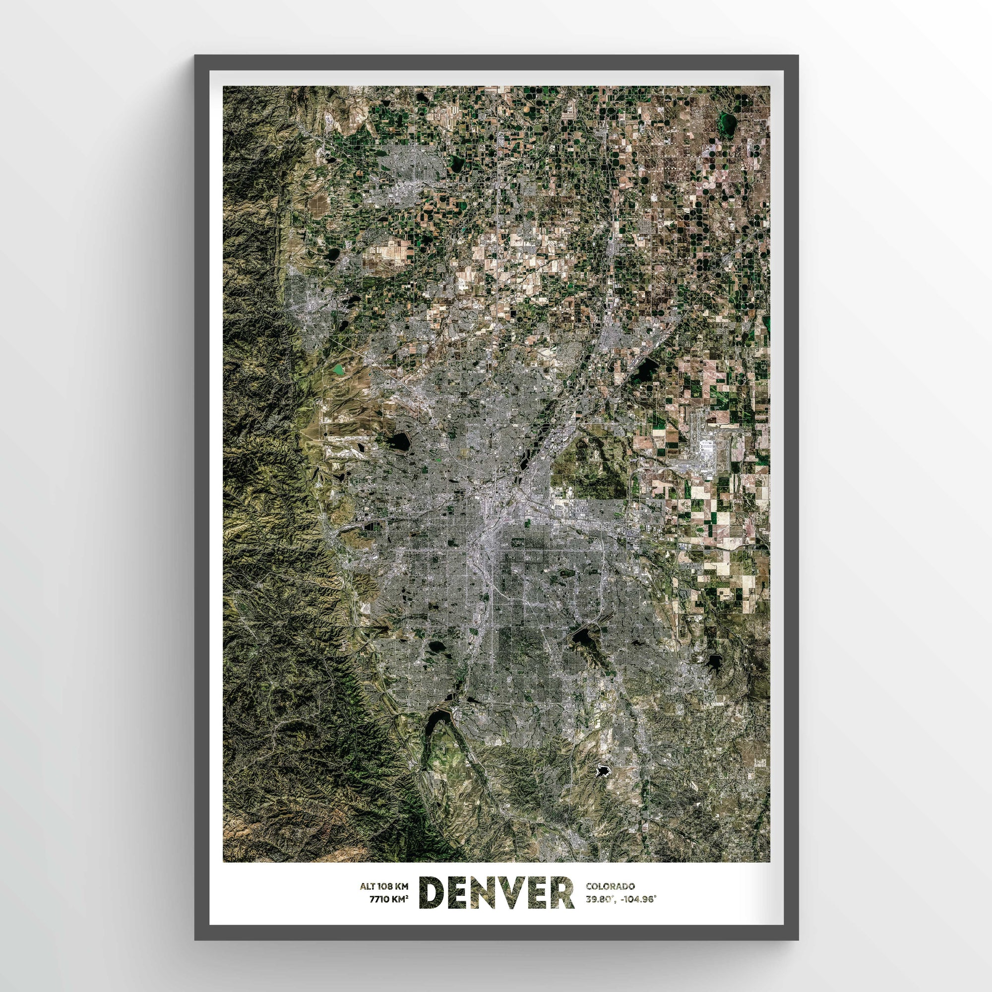 Denver Earth Photography - Art Print - Point Two Design