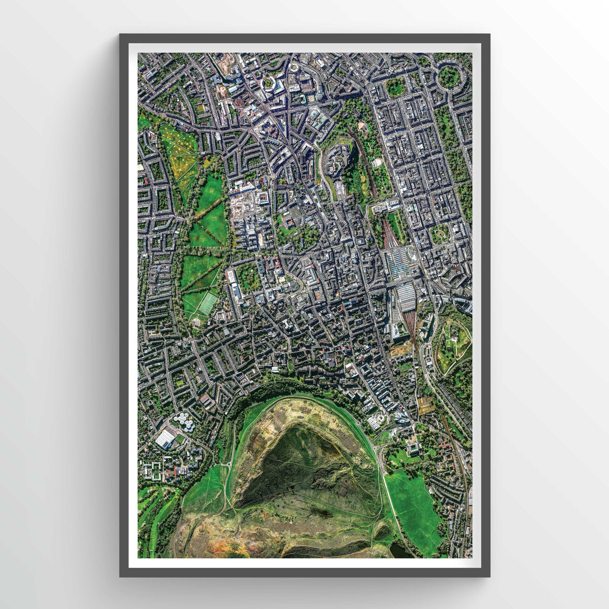 Edinburgh Earth Photography - Art Print - Point Two Design