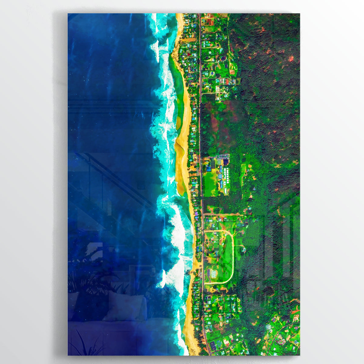 2208 Earth Photography - Floating Acrylic Art - Point Two Design