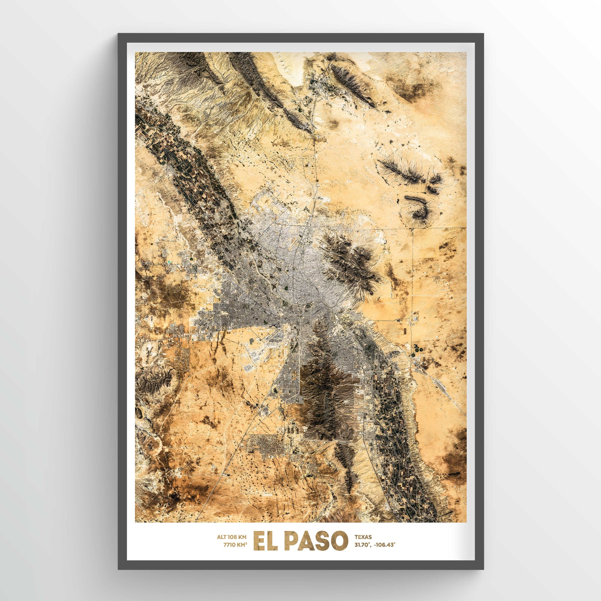 El Paso Earth Photography - Art Print - Point Two Design