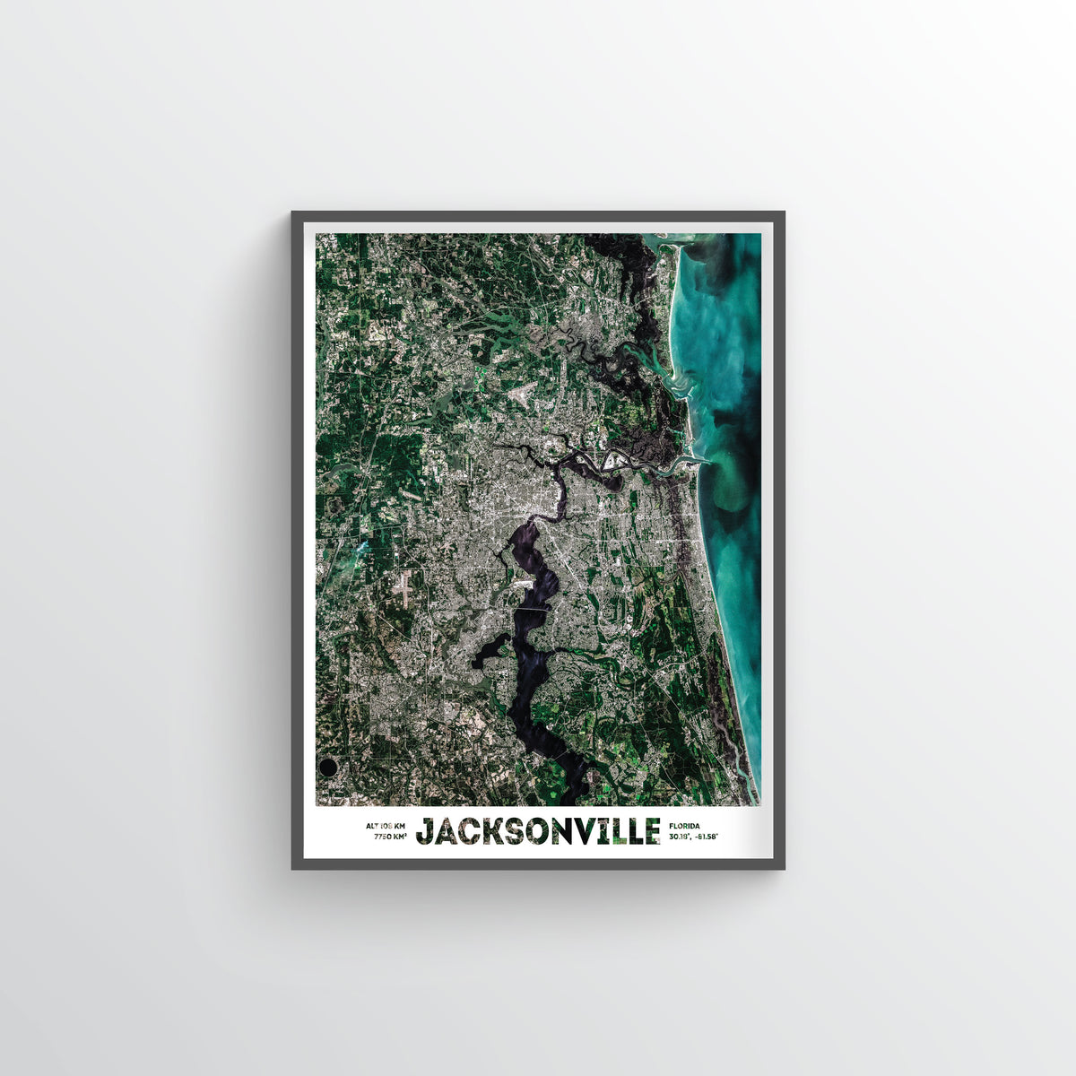 Jacksonville Earth Photography - Art Print