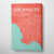 Los Angeles City Map Canvas Wrap - Point Two Design