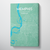 Memphis City Map Canvas Wrap - Point Two Design
