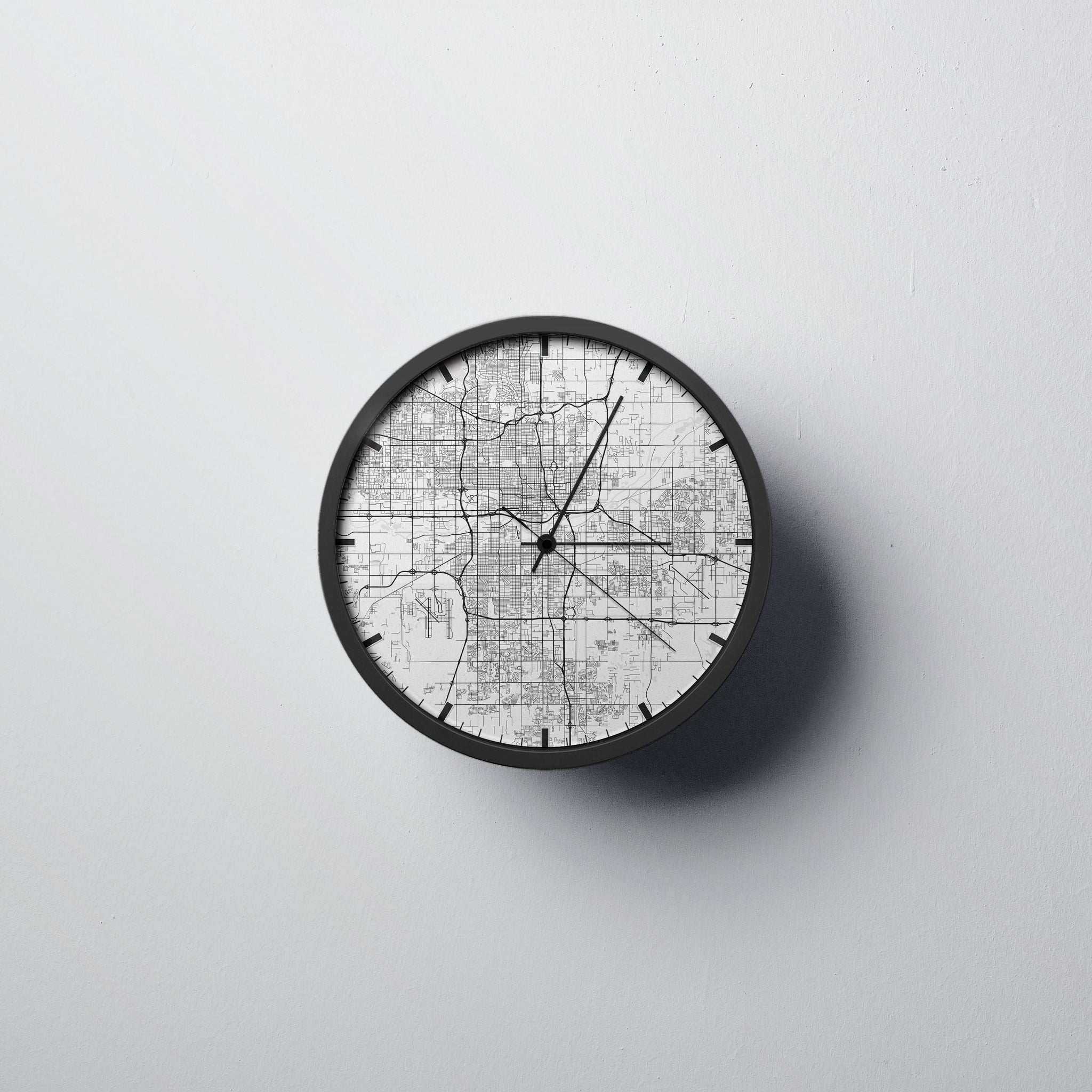 Oklahoma City Wall Clock
