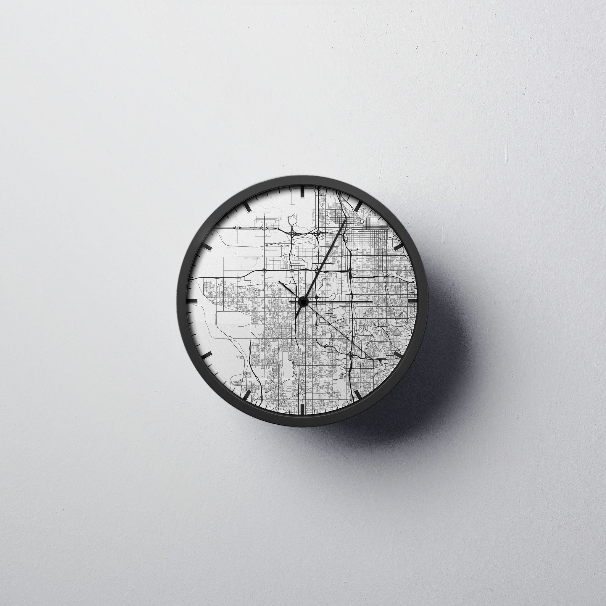 Salt Lake City Wall Clock