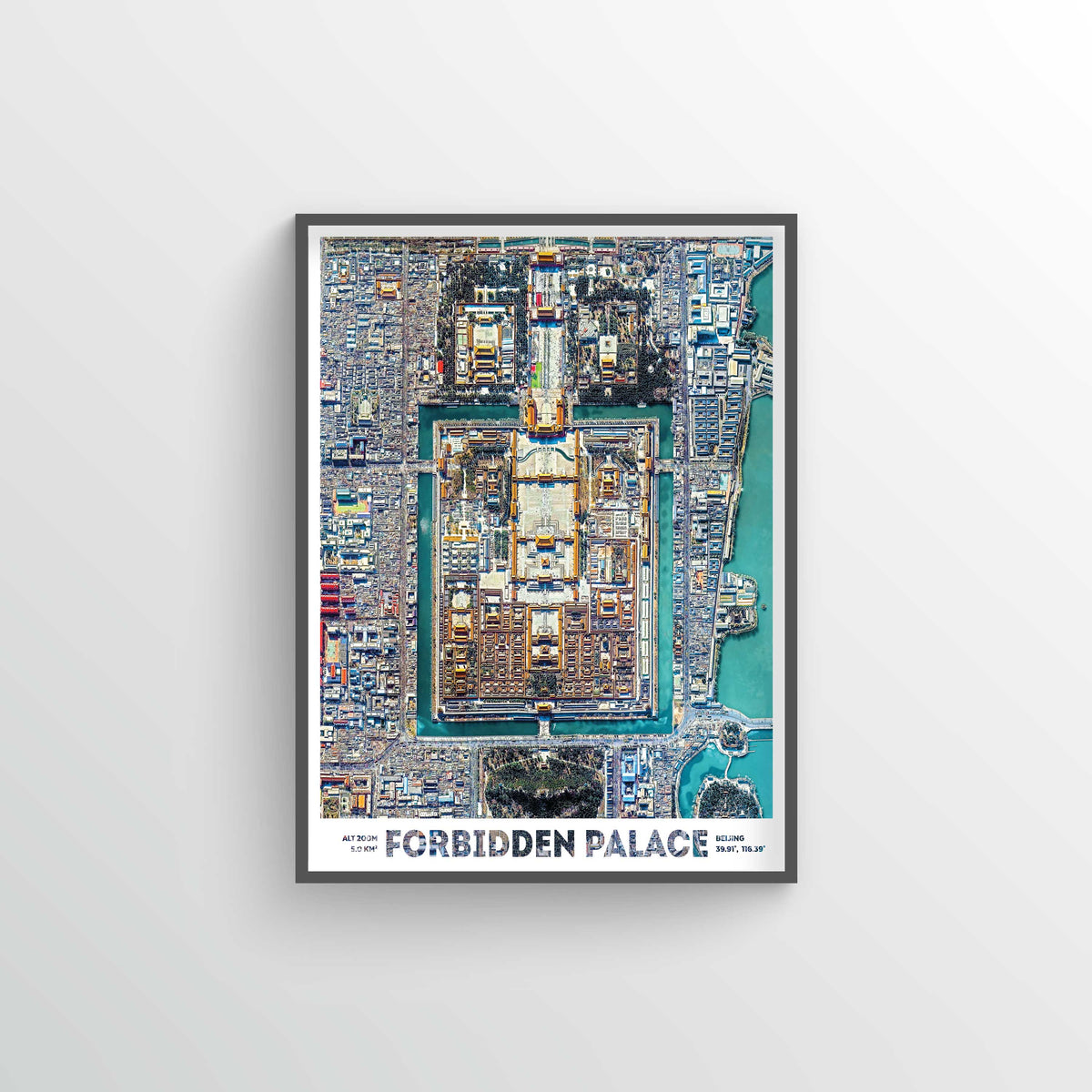 Forbidden City Earth Photography - Art Print - Point Two Design