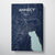 Annecy Map Canvas Wrap - Point Two Design