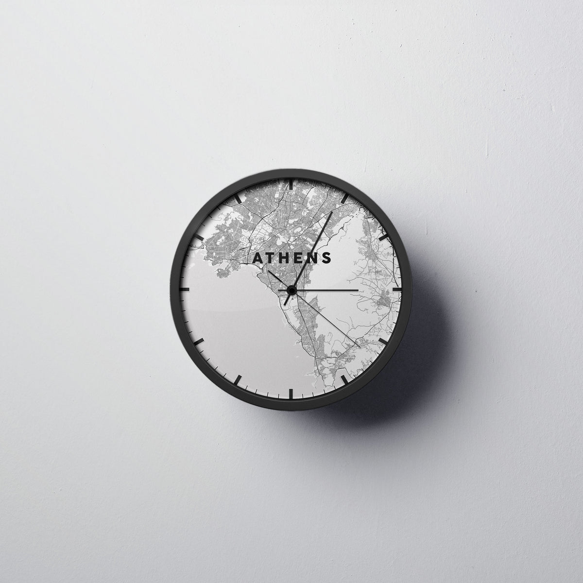 Athens Wall Clock - Point Two Design
