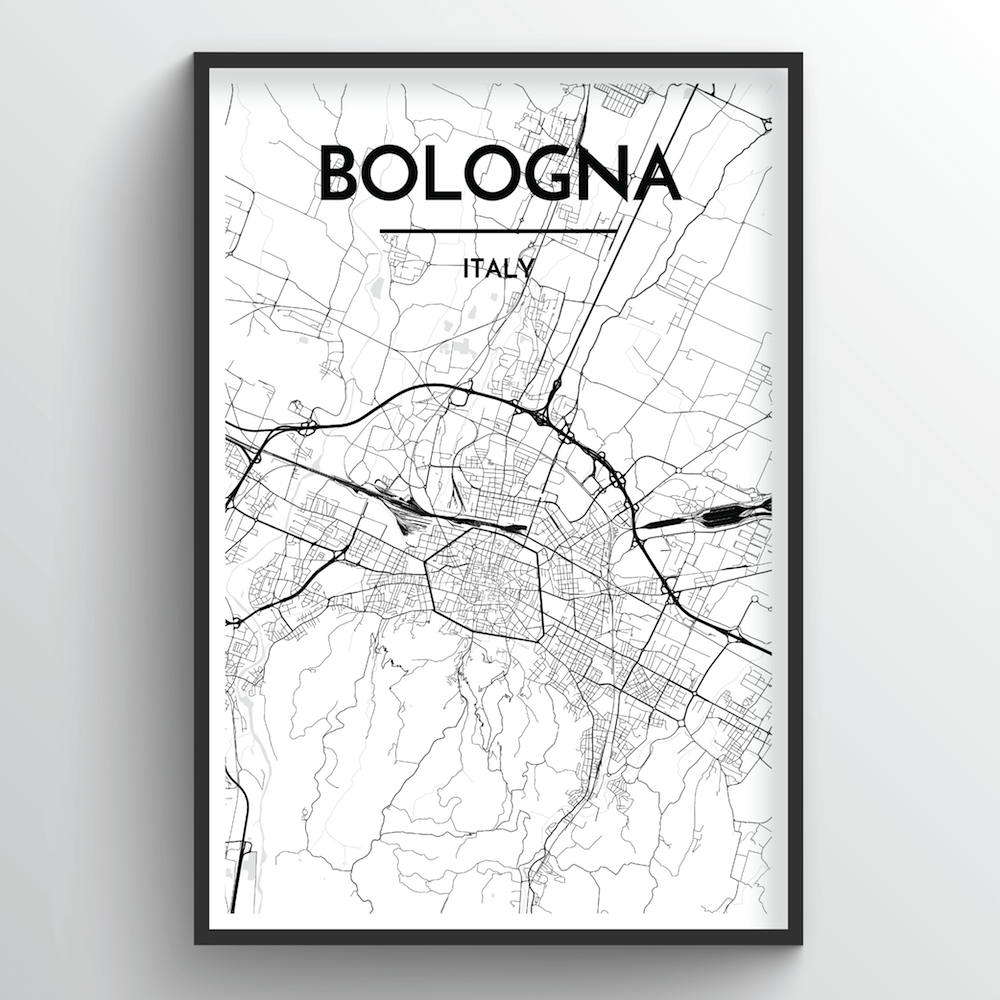 Bologna City Map - Point Two Design