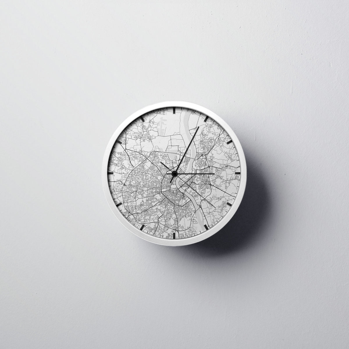 Bordeaux Wall Clock - Point Two Design