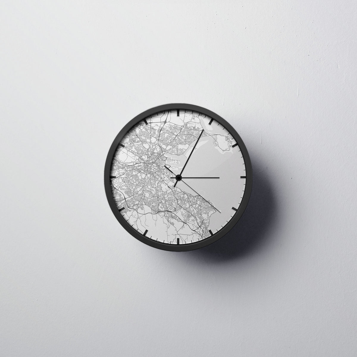 Dublin Wall Clock - Point Two Design