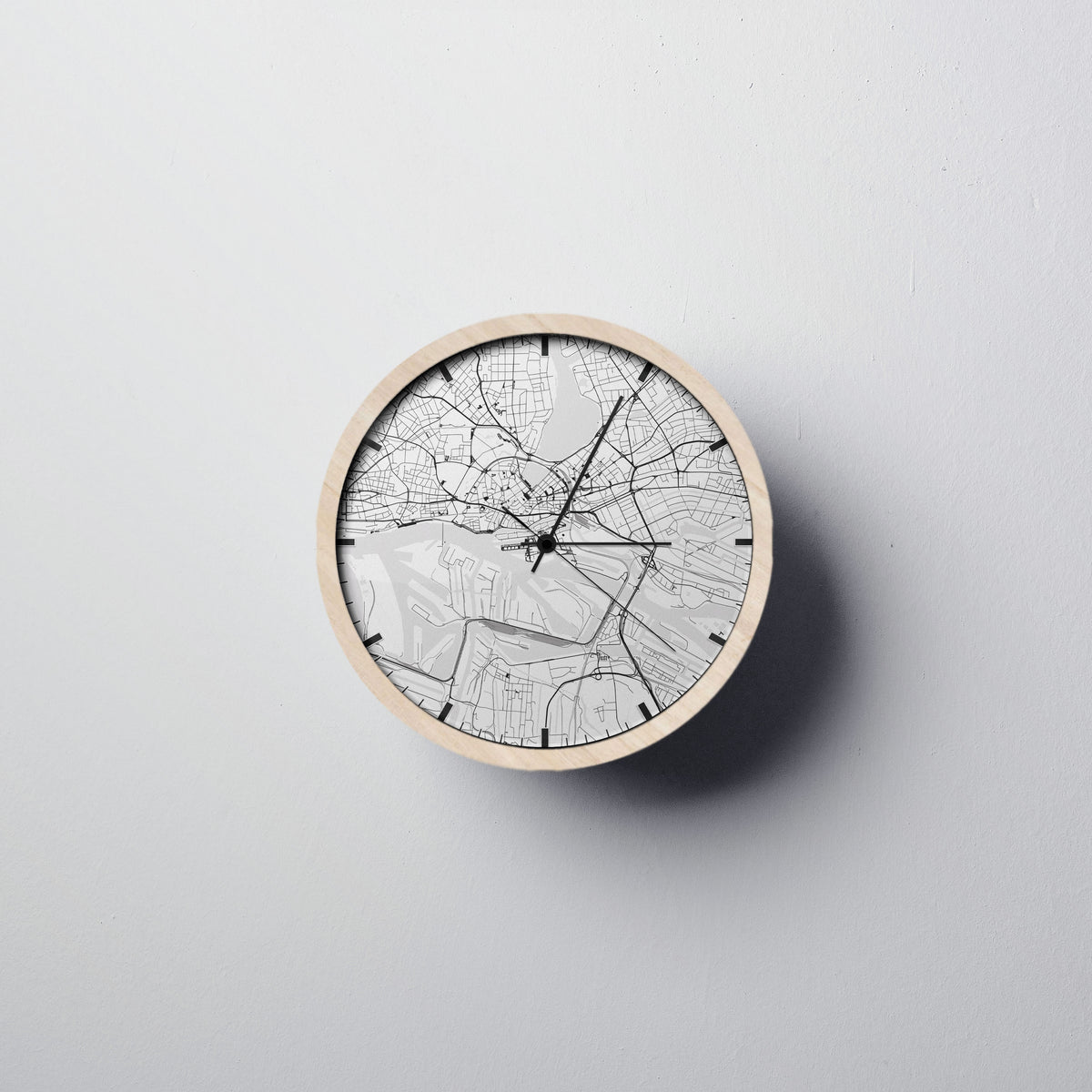 Hamburg Wall Clock