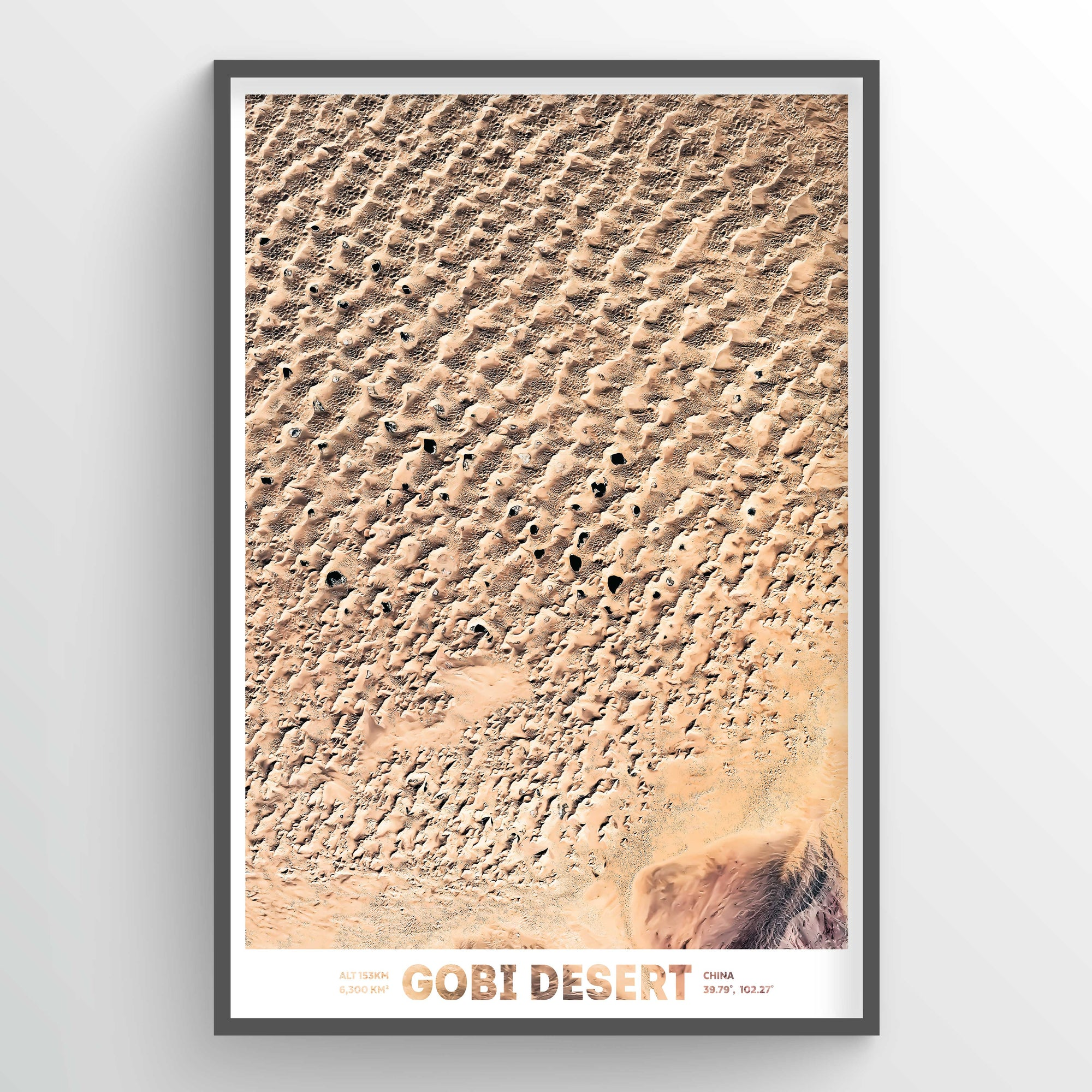 Gobi Desert - Earth Photography Fine Art Print