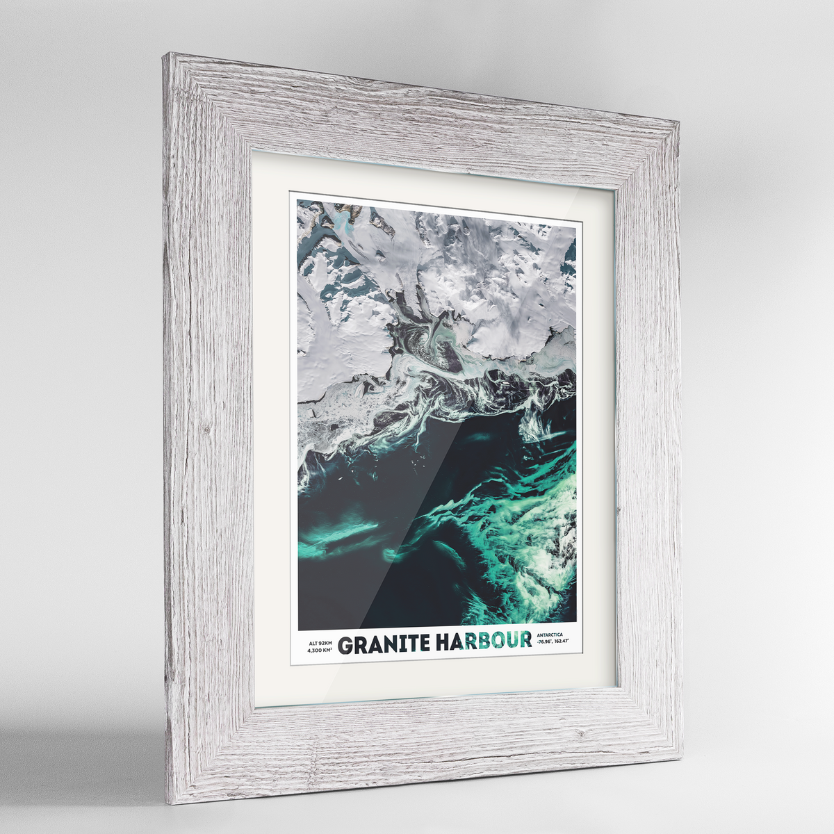 Granite Harbour Earth Photography Art Print - Framed