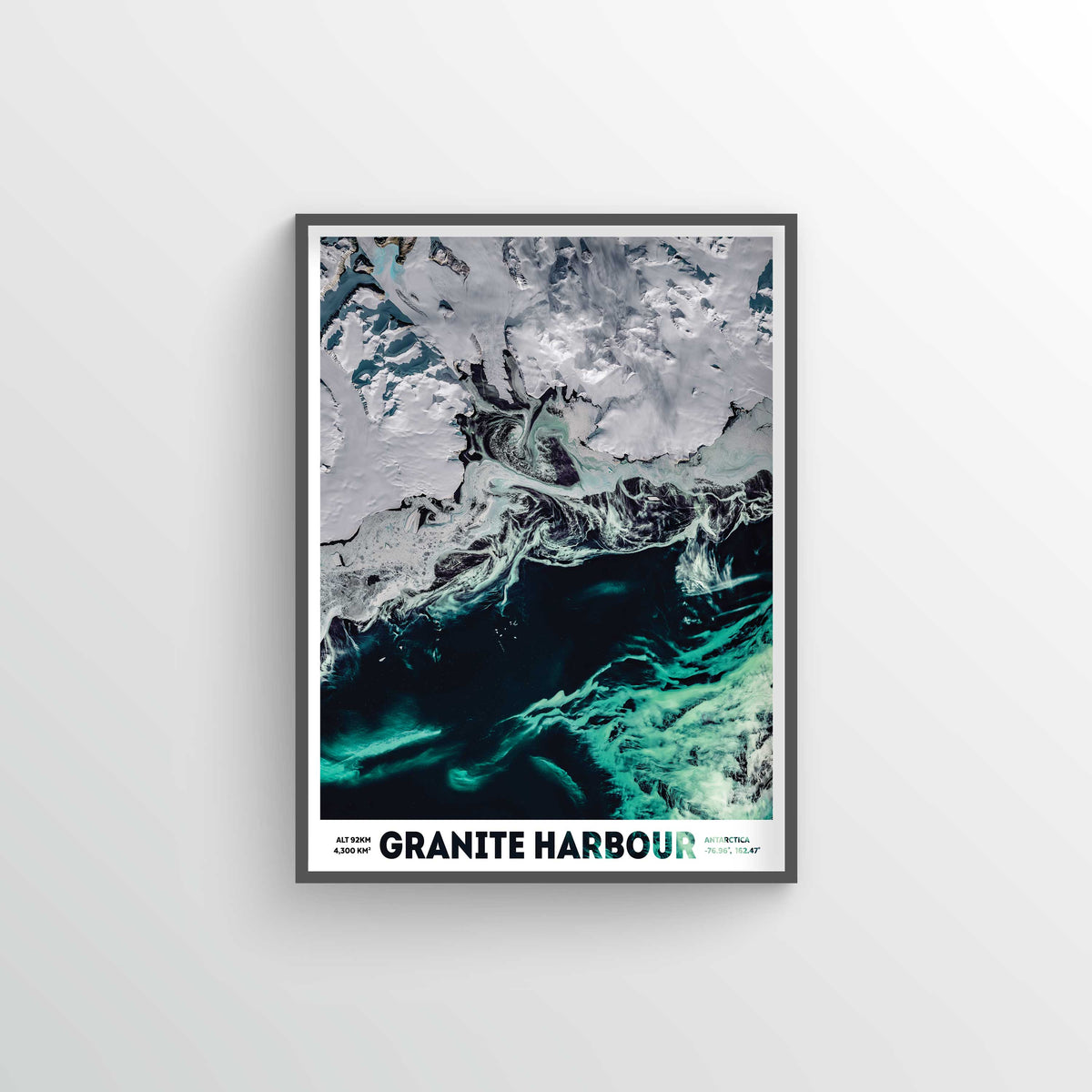Granite Harbour Earth Photography - Art Print