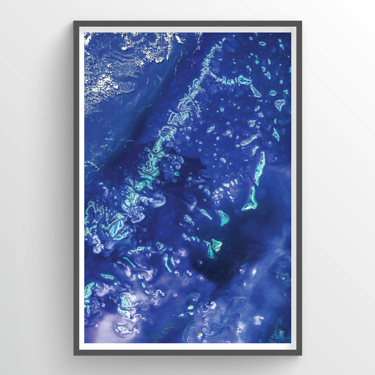 Great Barrier Reef Earth Photography - Art Print
