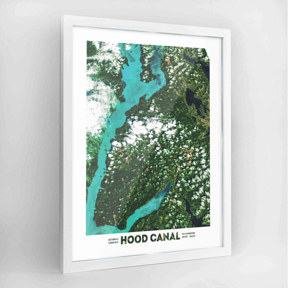 Hood Canal Earth Photography Art Print - Framed