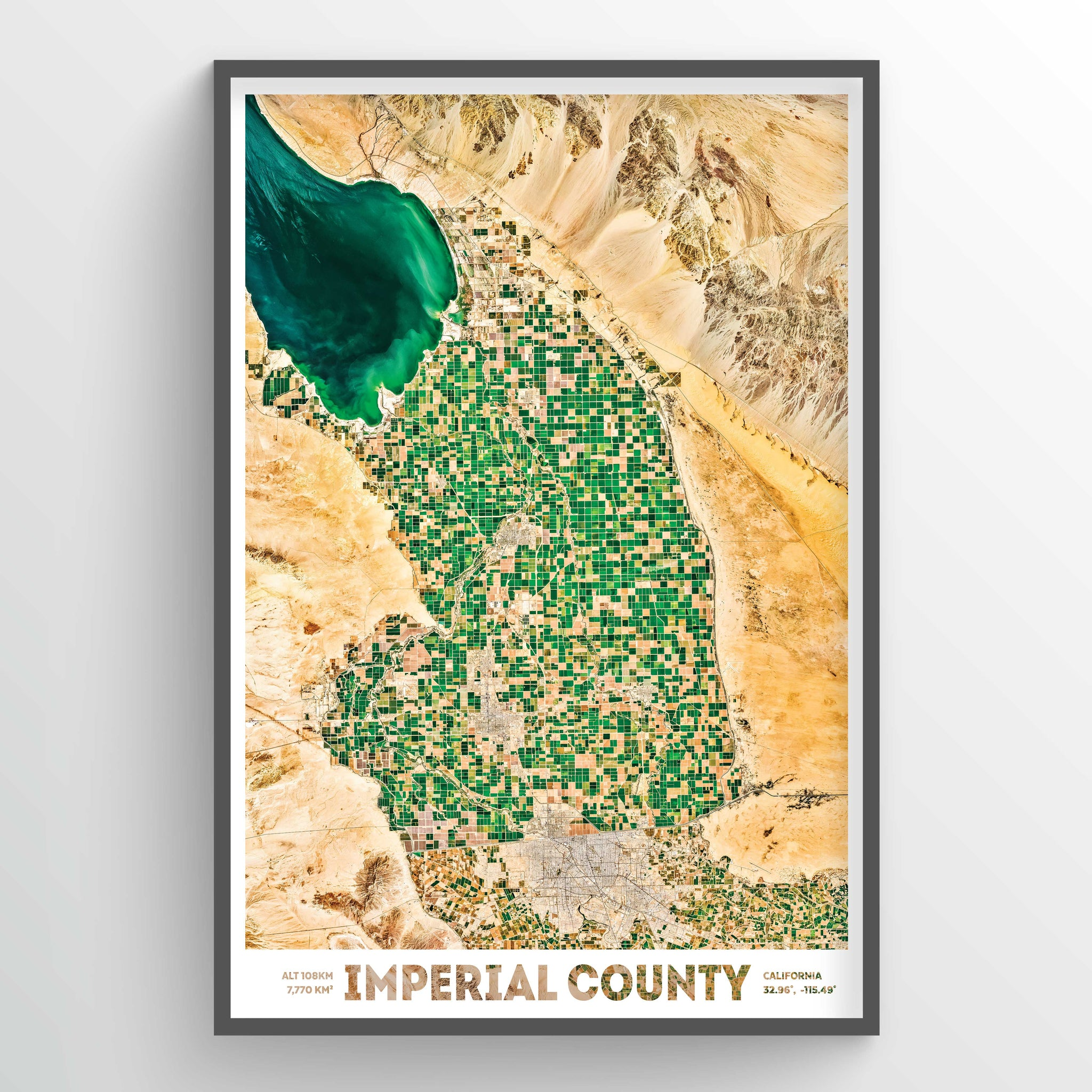 Imperial County Earth Photography - Art Print