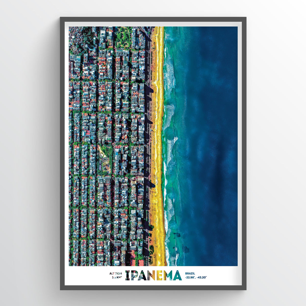 Ipanema Beach - Fine Art