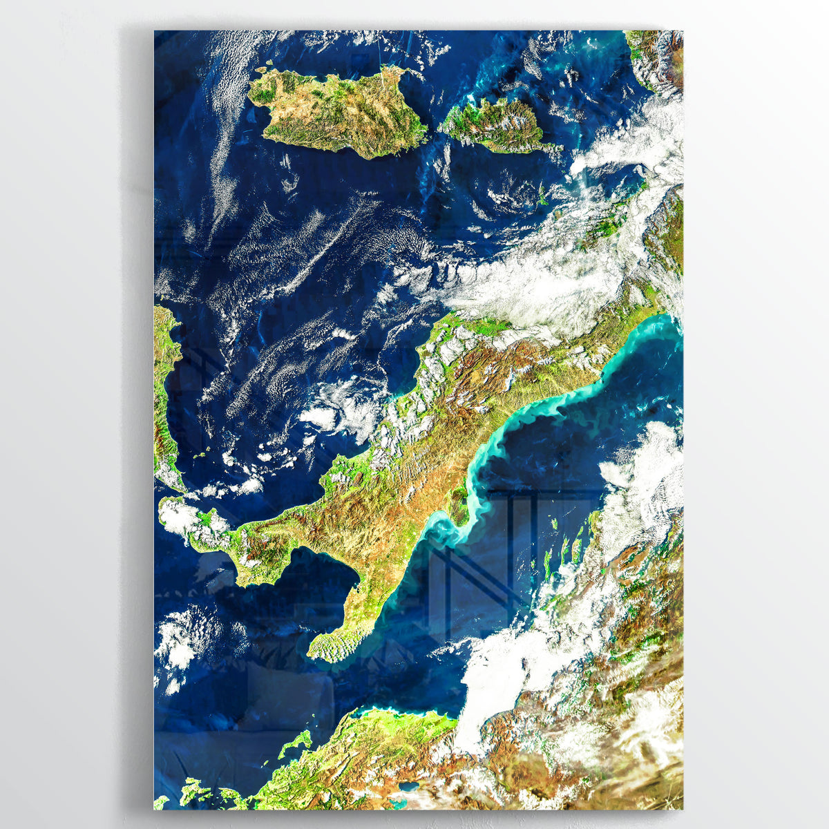 Italy Earth Photography - Floating Acrylic Art