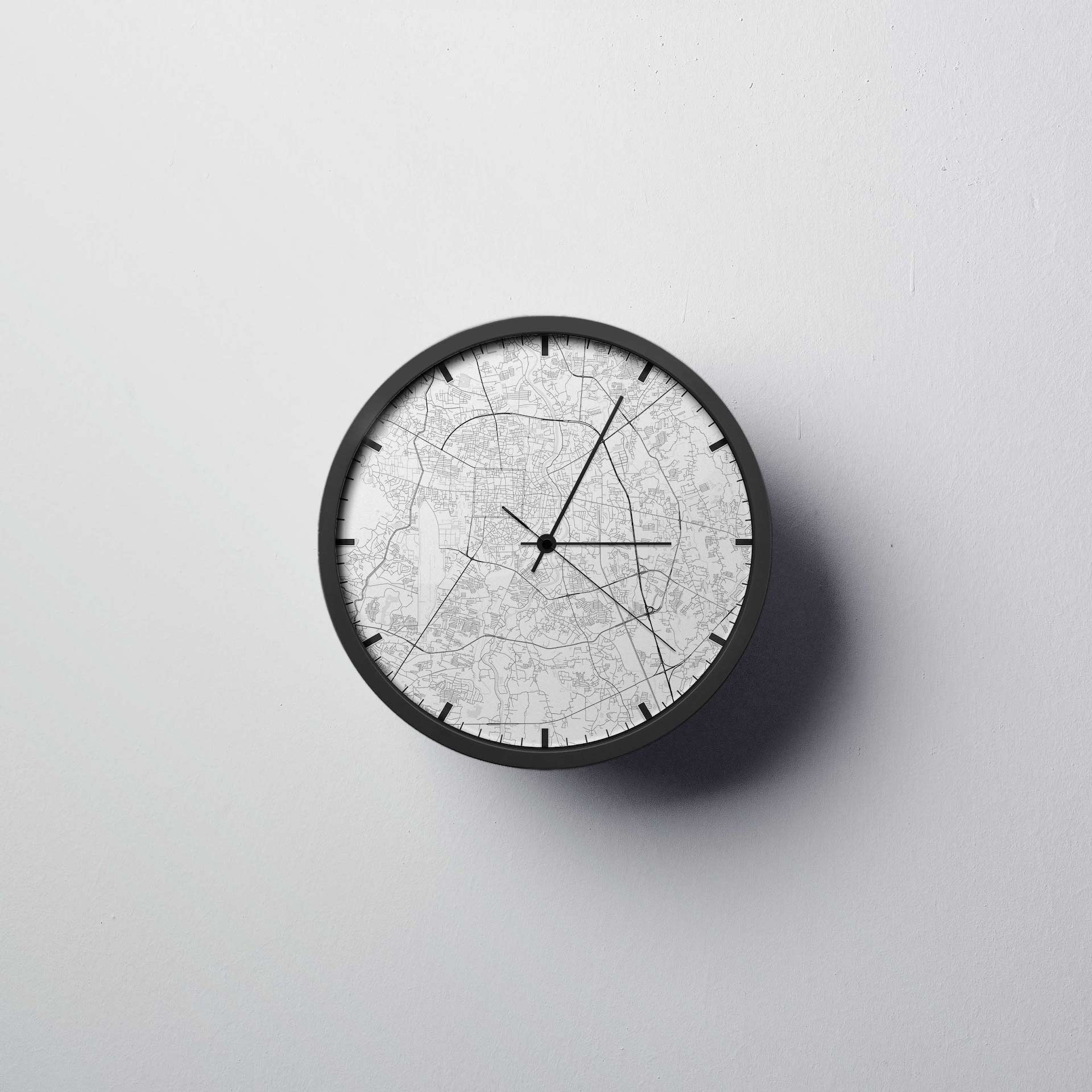 Chiang Mai Wall Clock - Point Two Design