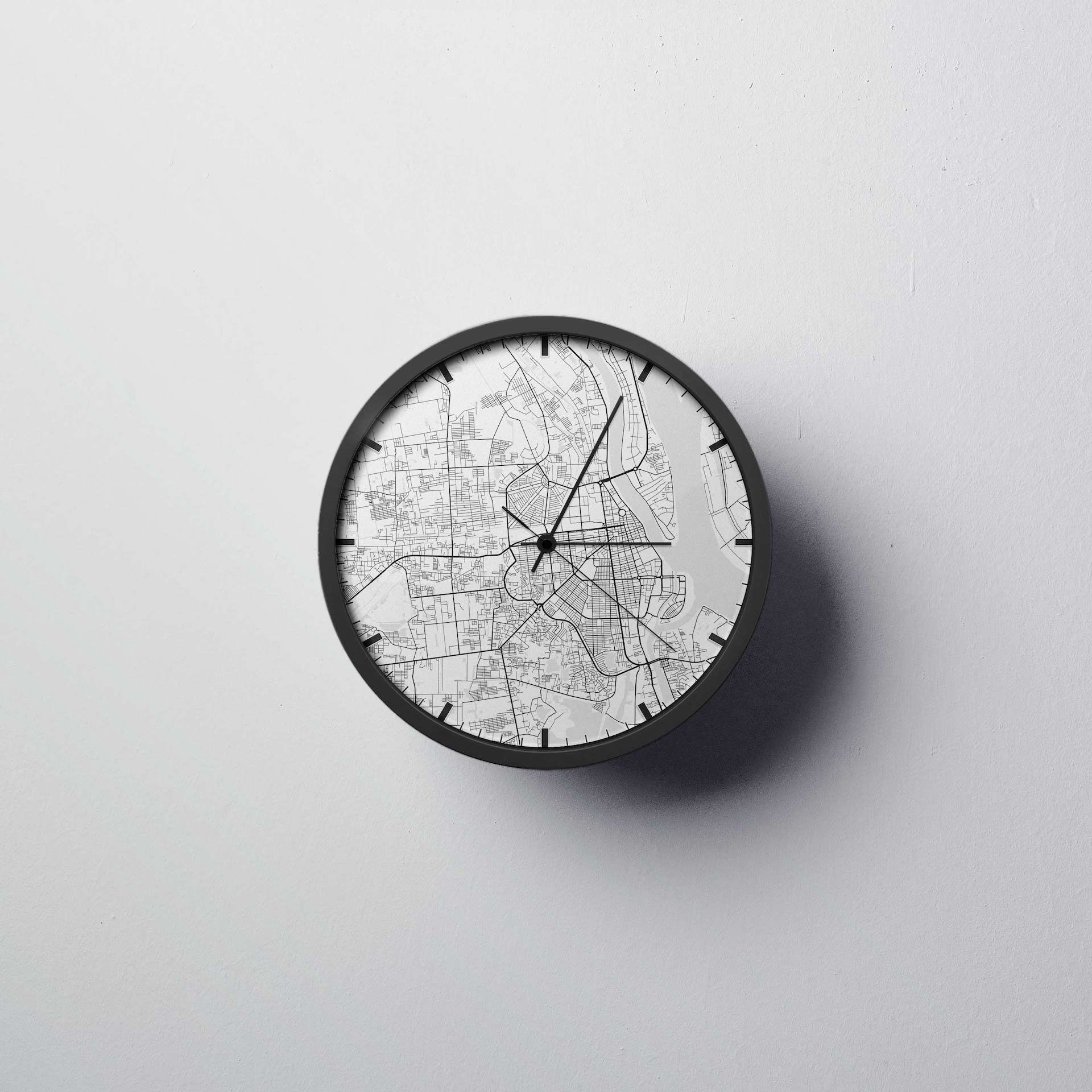 Phenom Penh Wall Clock