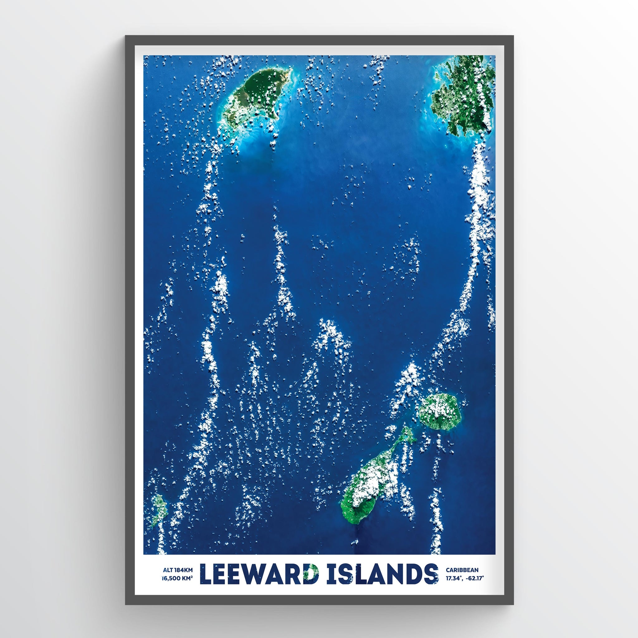 Leeward Islands - Fine Art