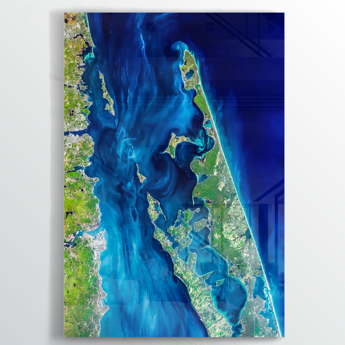 Long Island Earth Photography - Floating Acrylic Art