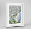 Mackenzie River Earth Photography - Framed Art Print