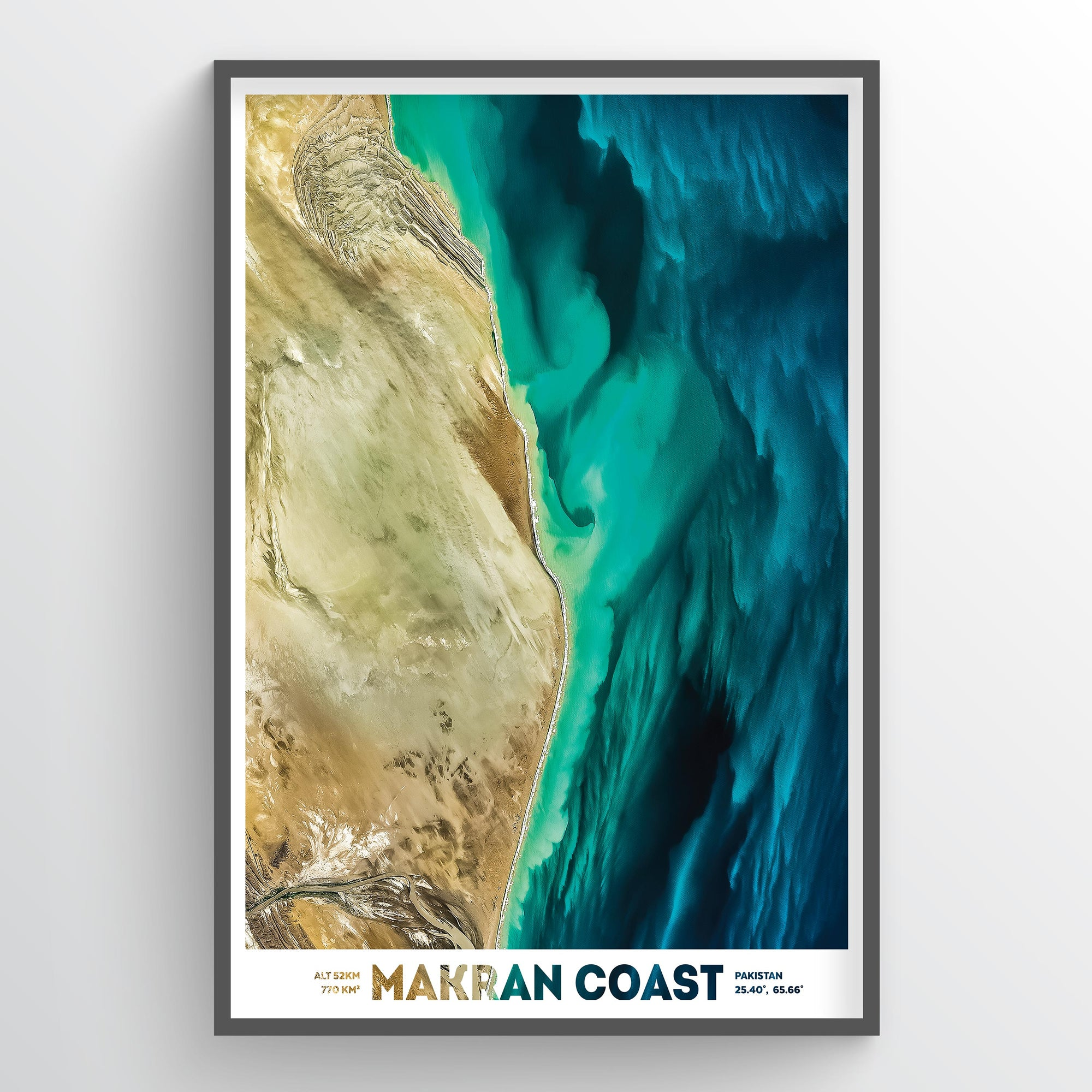 Makran Coast - Fine Art