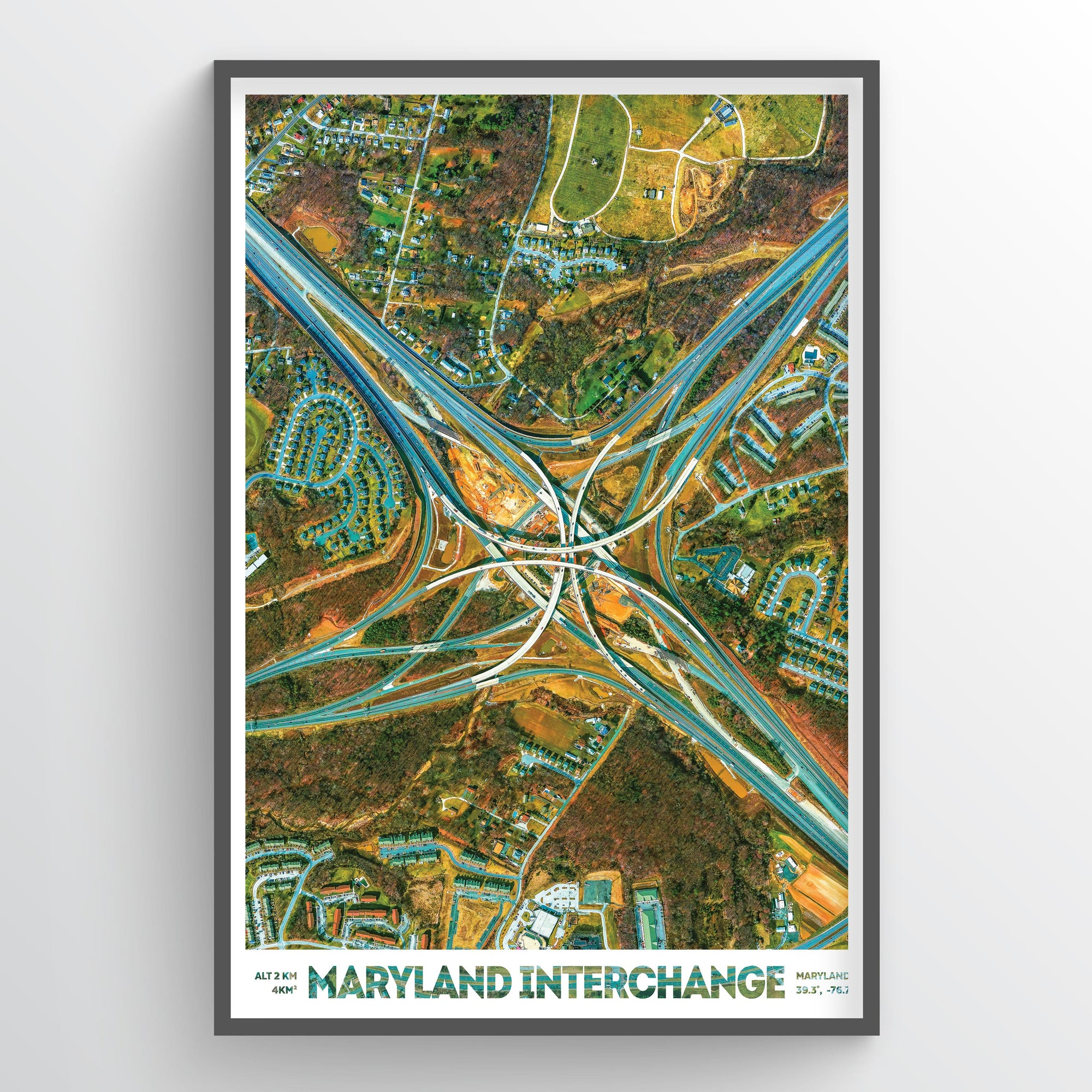 Maryland Interchange - Fine Art