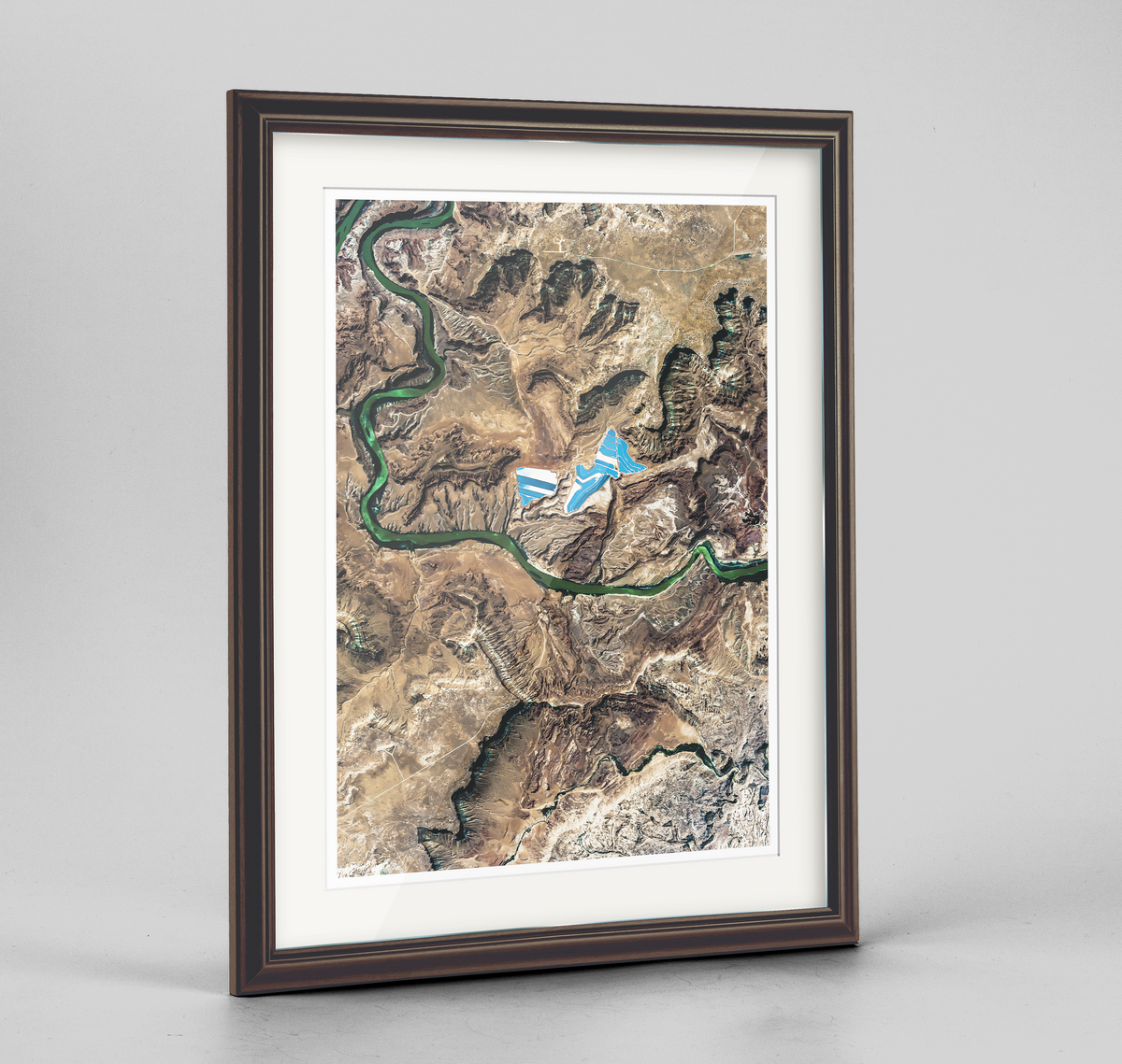 Moab Utah Earth Photography Art Print - Framed