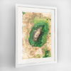 Mt Kilimanjaro Earth Photography - Framed Art Print