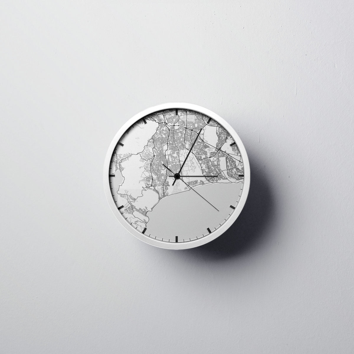 Cape Town Wall Clock - Point Two Design