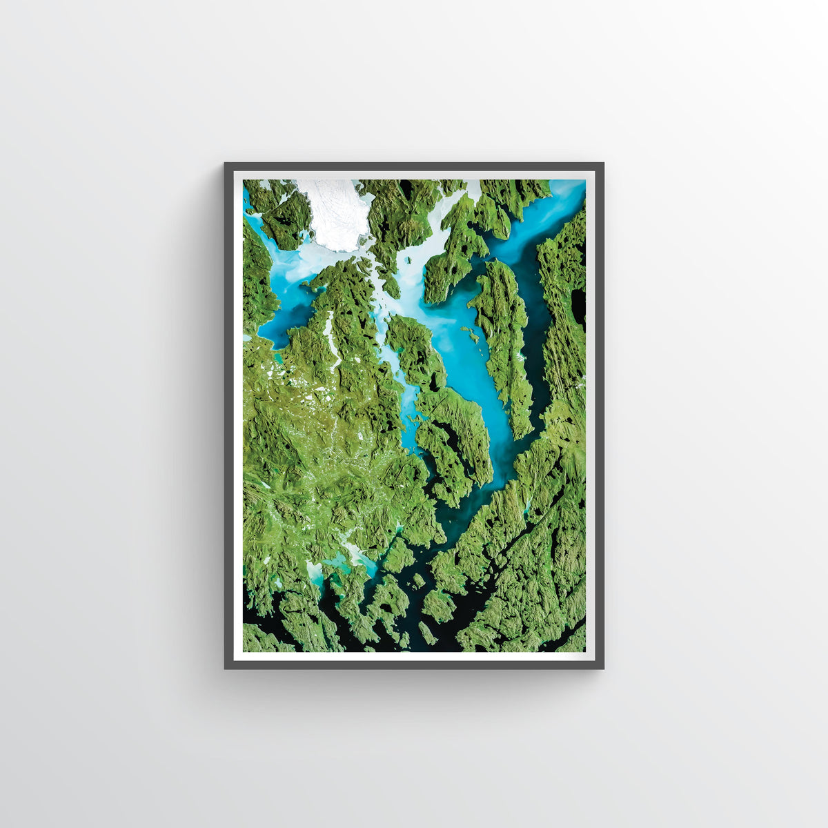 Nordendskiold Glacier Earth Photography - Art Print